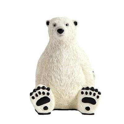 Polar Bear Phone & iPad Stand - Cool Setup Desk Decor