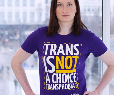 'Trans Is Not A Choice'