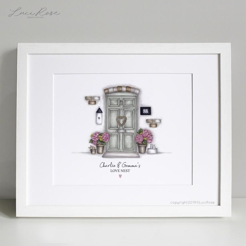 Love Nest Couples New Home Art Print