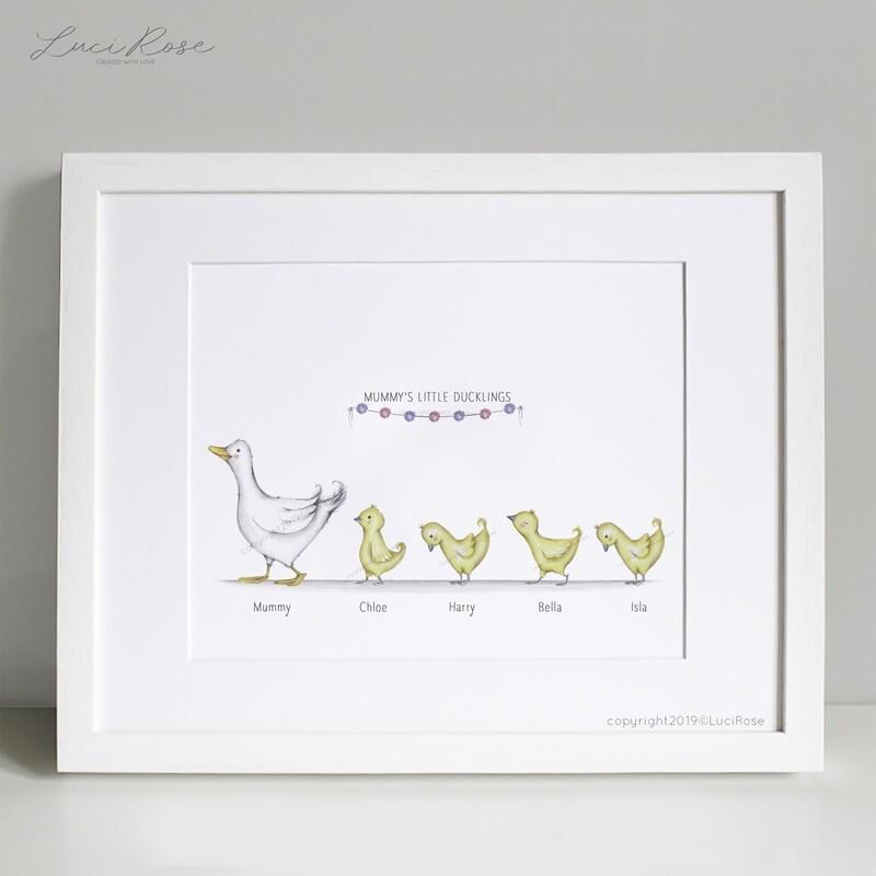Dainty Duckling Print