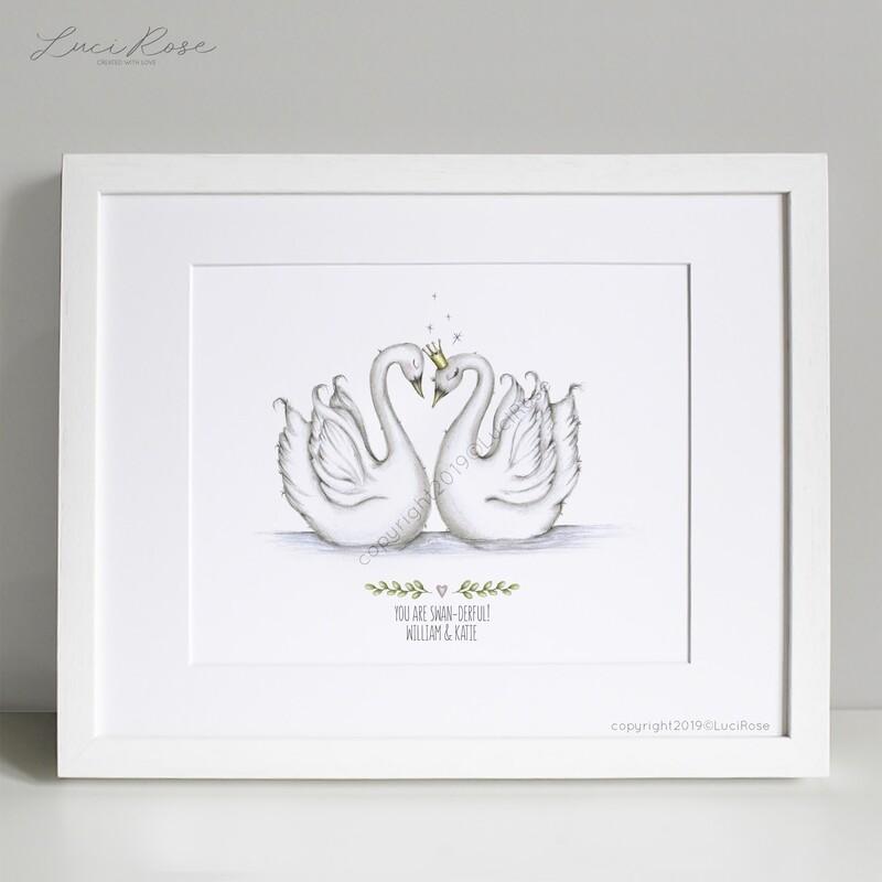 Swanderful Couples Art