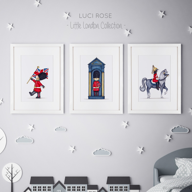 Little London Children's Nursery Art Set