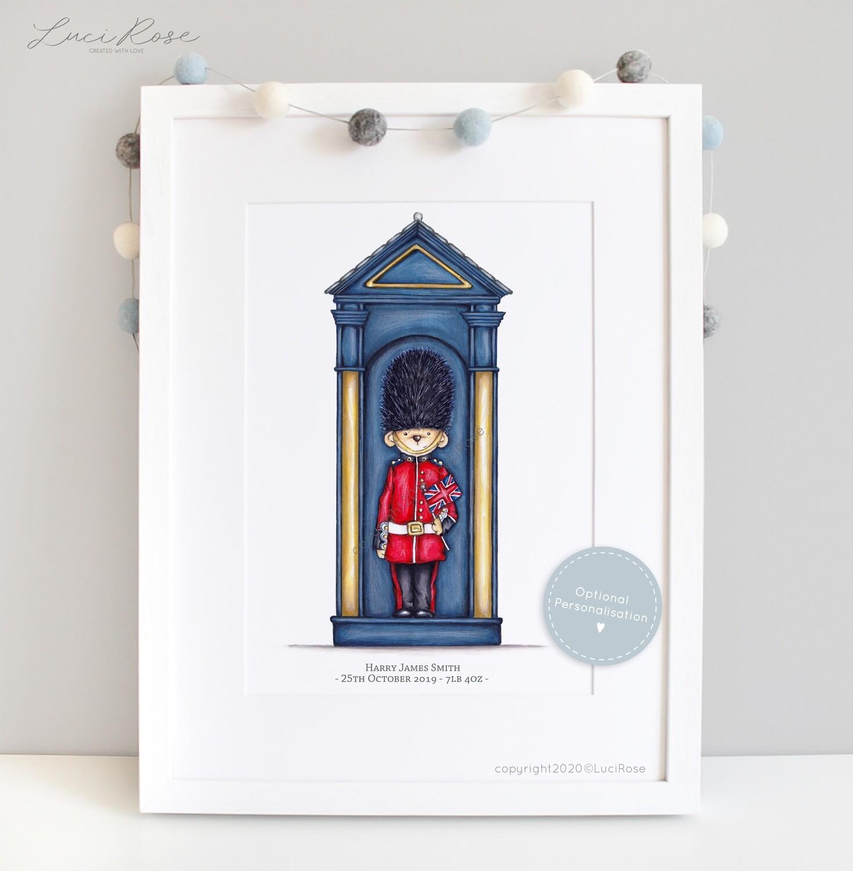 Little London 'Stand Guard' Children's and Nursery Art