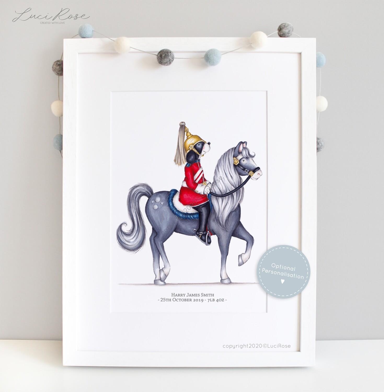 Little London 'Horse Guards Parade' Children's and Nursery Art