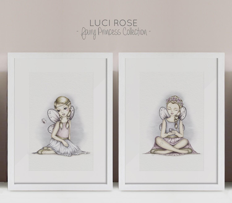 Fairy Princess Nursery Art Set