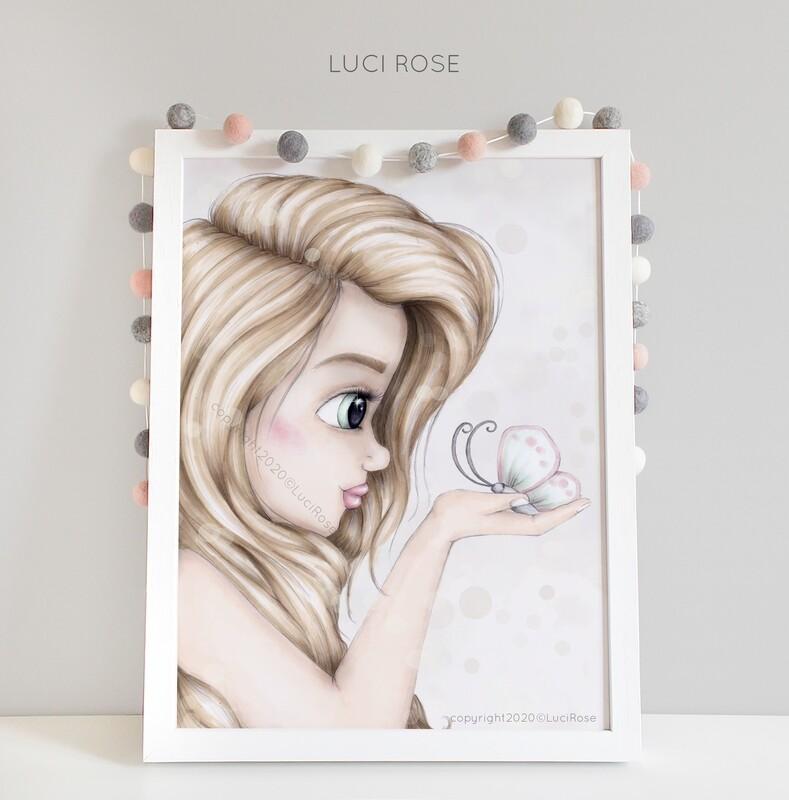 Grace Girls Nursery Art