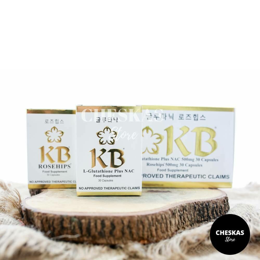 3 boxes of KB Gluta Nac