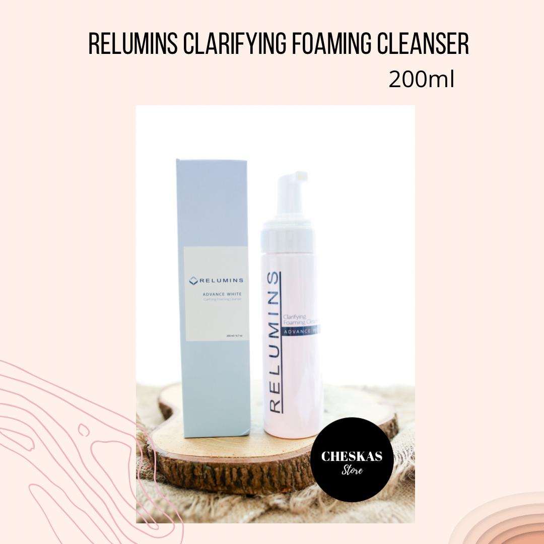Relumins Clarifying Facial Foam