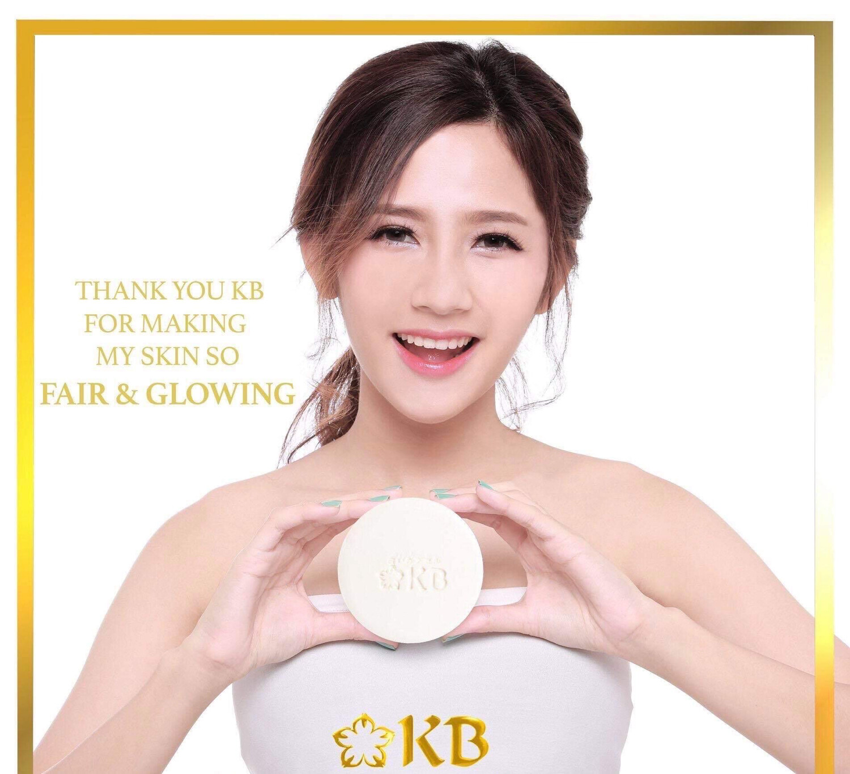 KB Gold Whitening Soap 135g x 2 pcs