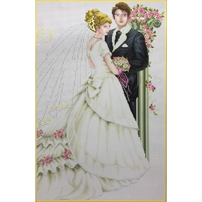 Counted Cross Stitch Kit Bride and Groom