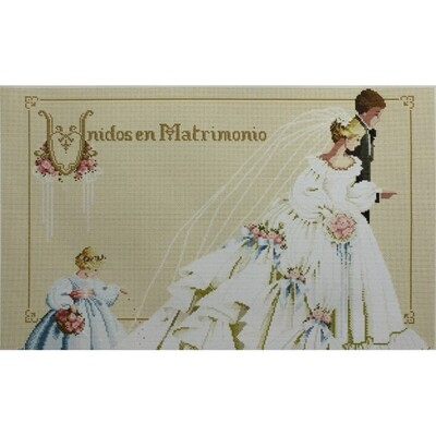 Counted Cross Stitch Kit The Wedding