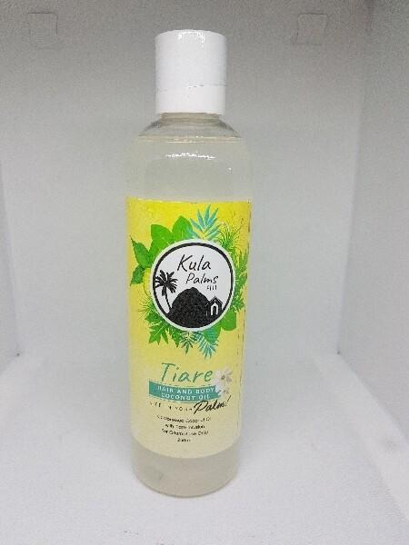 Tiare Oil (Gardenia) - Hair & Body Fragrant Oil - Infused with Coconut Oil - Organic Skincare