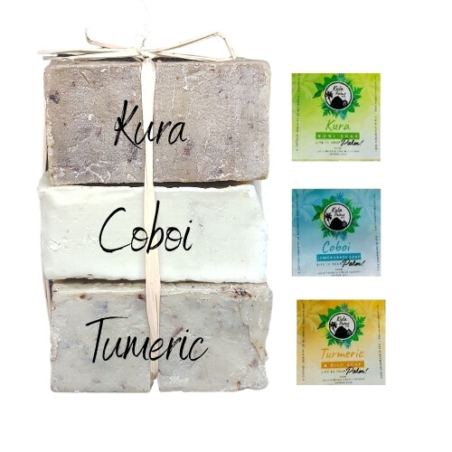 Herbal Coconut Soap Pack - Pure and Natural Herbal Infused Coconut Soap