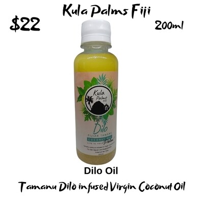 Dilo -Tamanu Nut Infused Coconut Oil - Organic Skincare