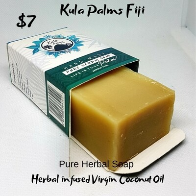 Pure Herbal Soap - Infused with Coconut Oil - Organic Skincare
