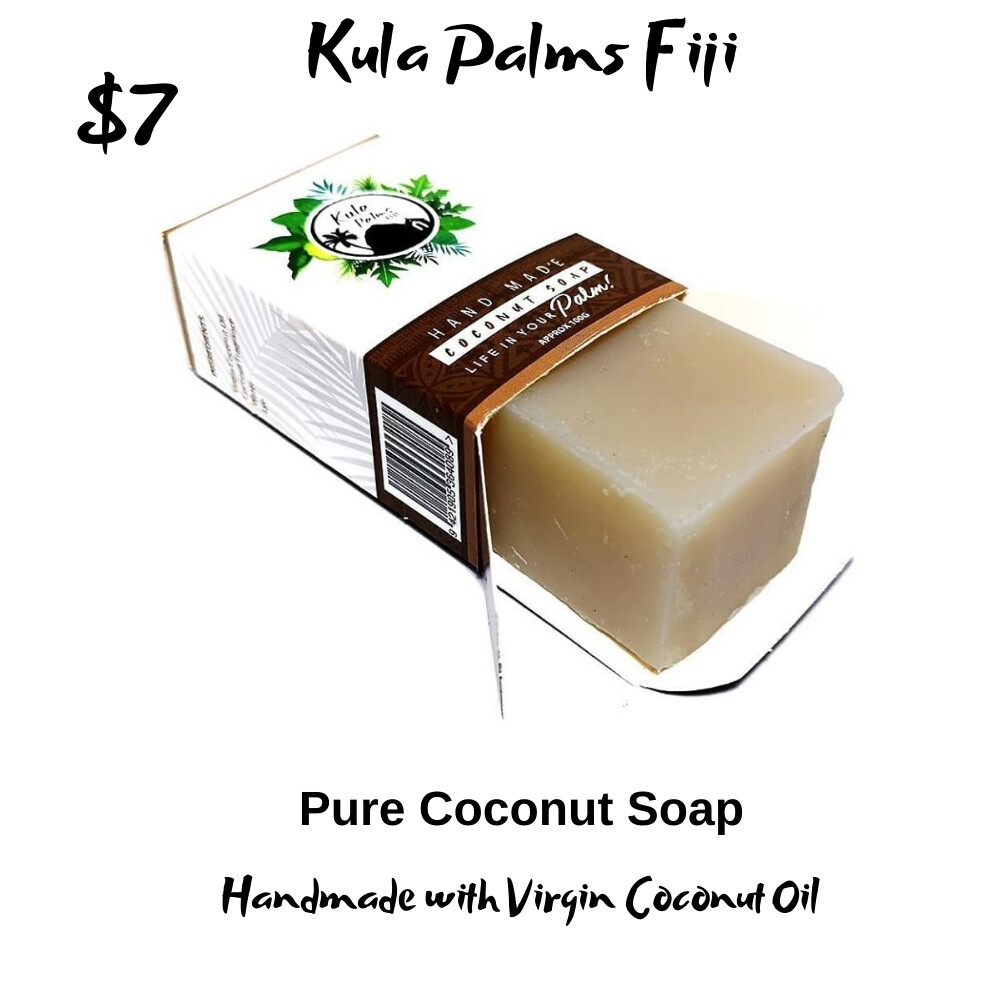 Virgin Coconut Soap - Infused with Coconut Oil - Organic Skincare