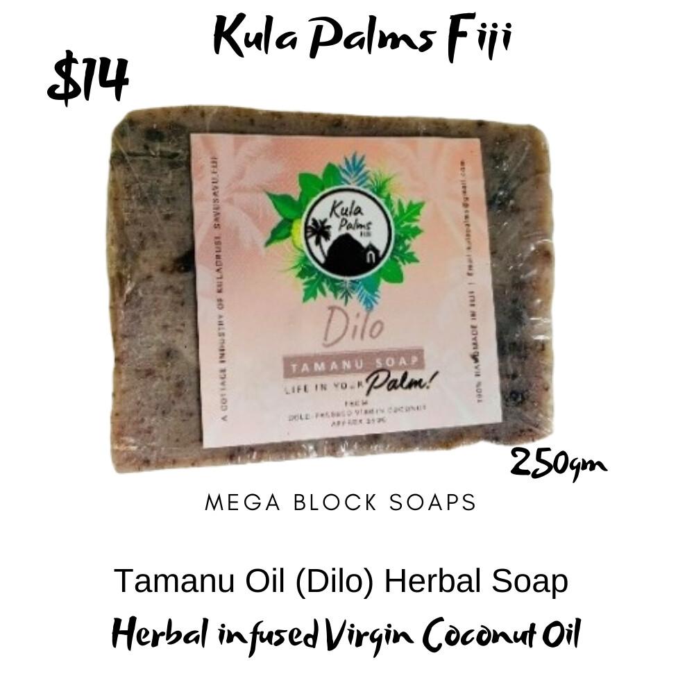 Tamanu (Dilo) Mega Soap Bar - Infused with Coconut Oil - Organic Skincare