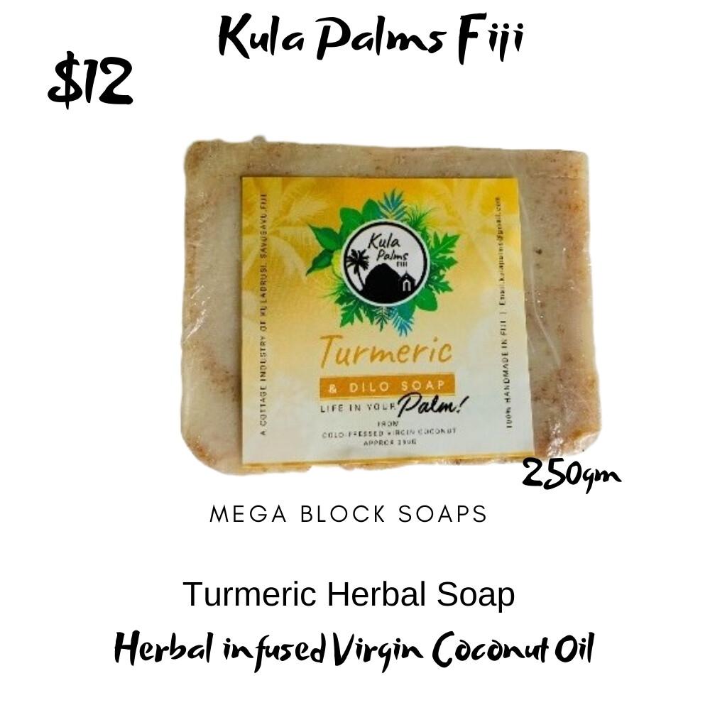 Tumeric & Dilo Soap Bar - Infused with Coconut Oil - Organic Skincare