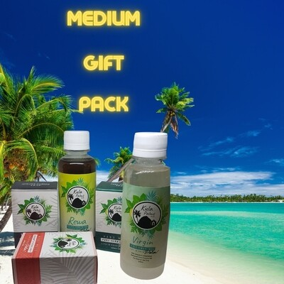 Medium Gift Pack - Infused with Coconut Oil - Organic Skincare