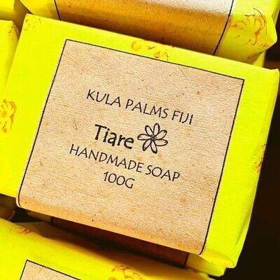 Tiare Soap Bar - Pure and Natural Coconut Soap