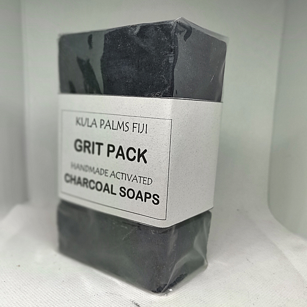 Grit Pack - 4 Soap Charcoal Pack