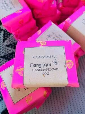 Frangipani Soap Bar - Coconut Scented Soap
