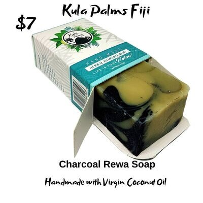 Herbal Charcoal Soap - Infused with Coconut Oil - Organic Skincare