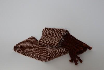 Oregon grape dyed skinny scarf