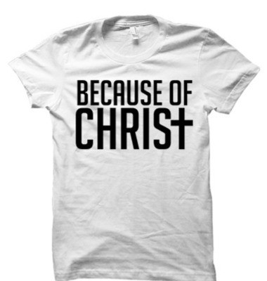 Because of Christ White