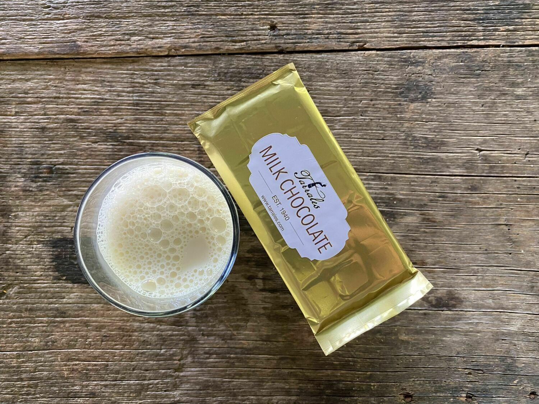 Milk Chocolate Bar (Three, 45 Gram Bars)