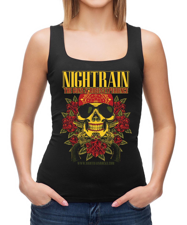 Nightrain Axl Skull Tank
