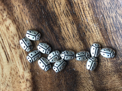 Silver Plated LadyBug