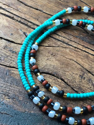 Anklet: Root & Throat Chakra