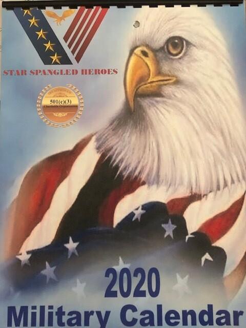 2020 Military Calendar