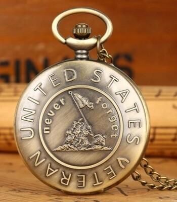 Veteran Pocket Watch