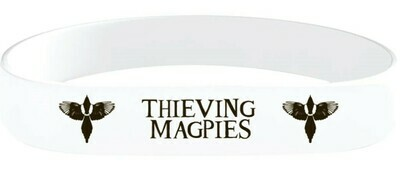 Thieving Magpies Printed Silicone Wrist Band