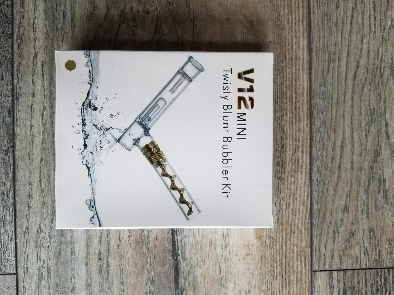 V12 Mini Twisty Blunt Bubbler Kit
