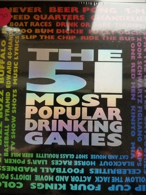 GAME THE 51 MOST POPULAR DRINKING GAMES
