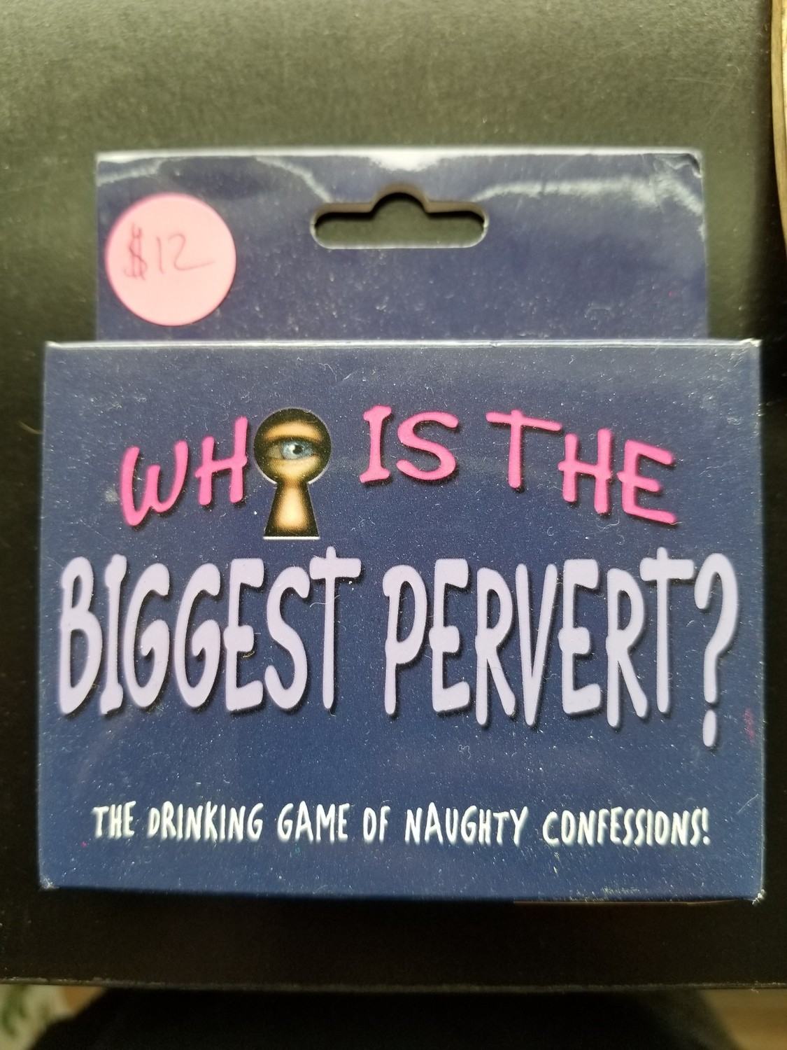 GAME WHO IS THE BIGGEST PERVERT