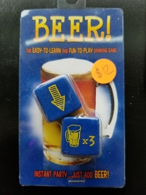 GAME BEER DICE