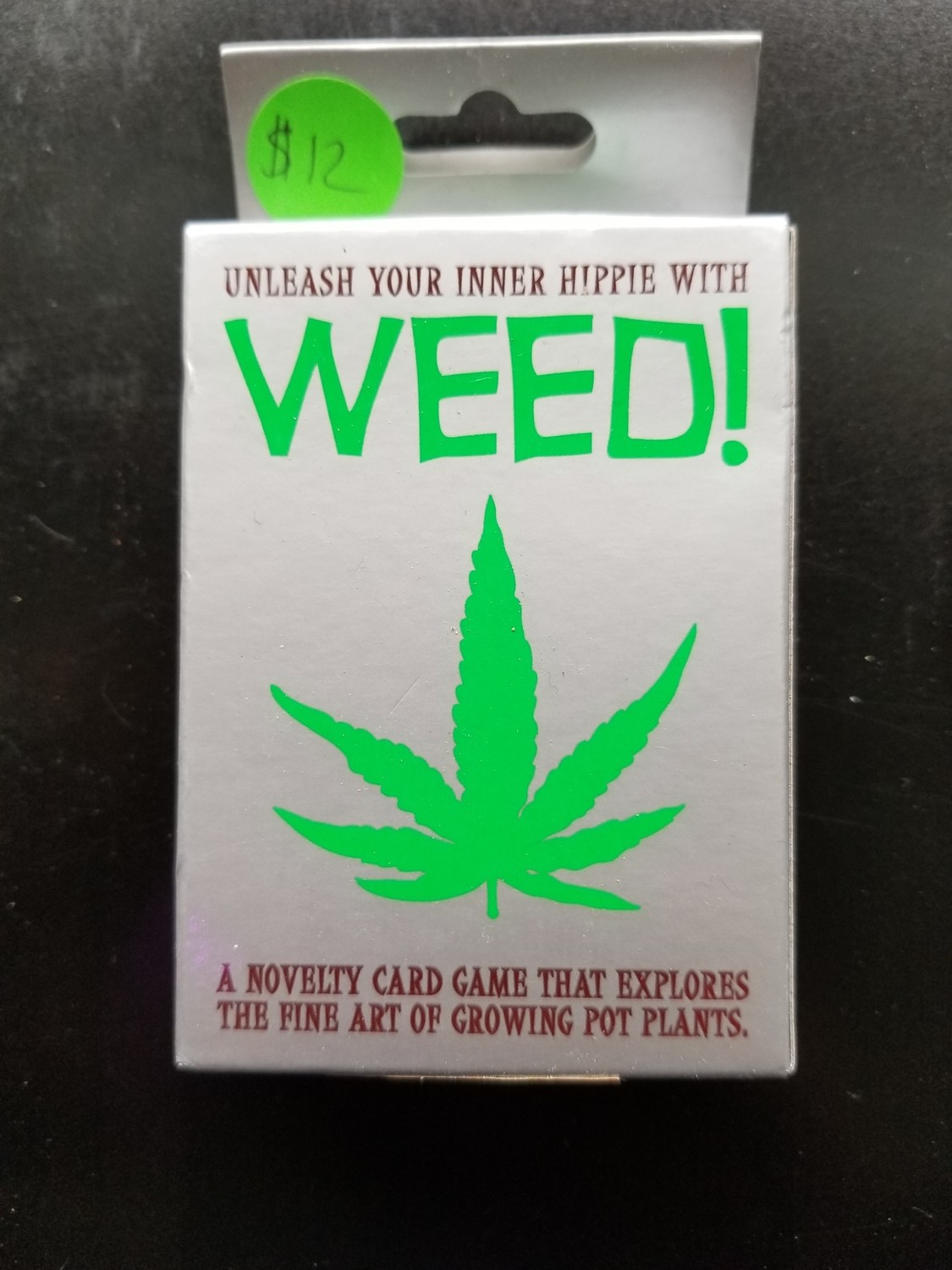 GAME WEED CARD GAME