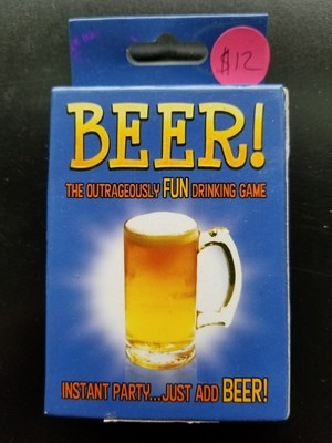 GAME BEER CARD GAME