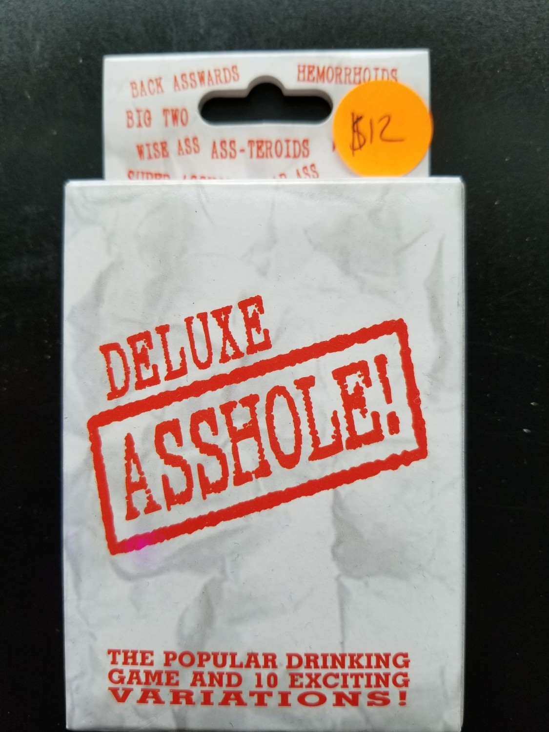 GAME DELUXE ASSHOLE