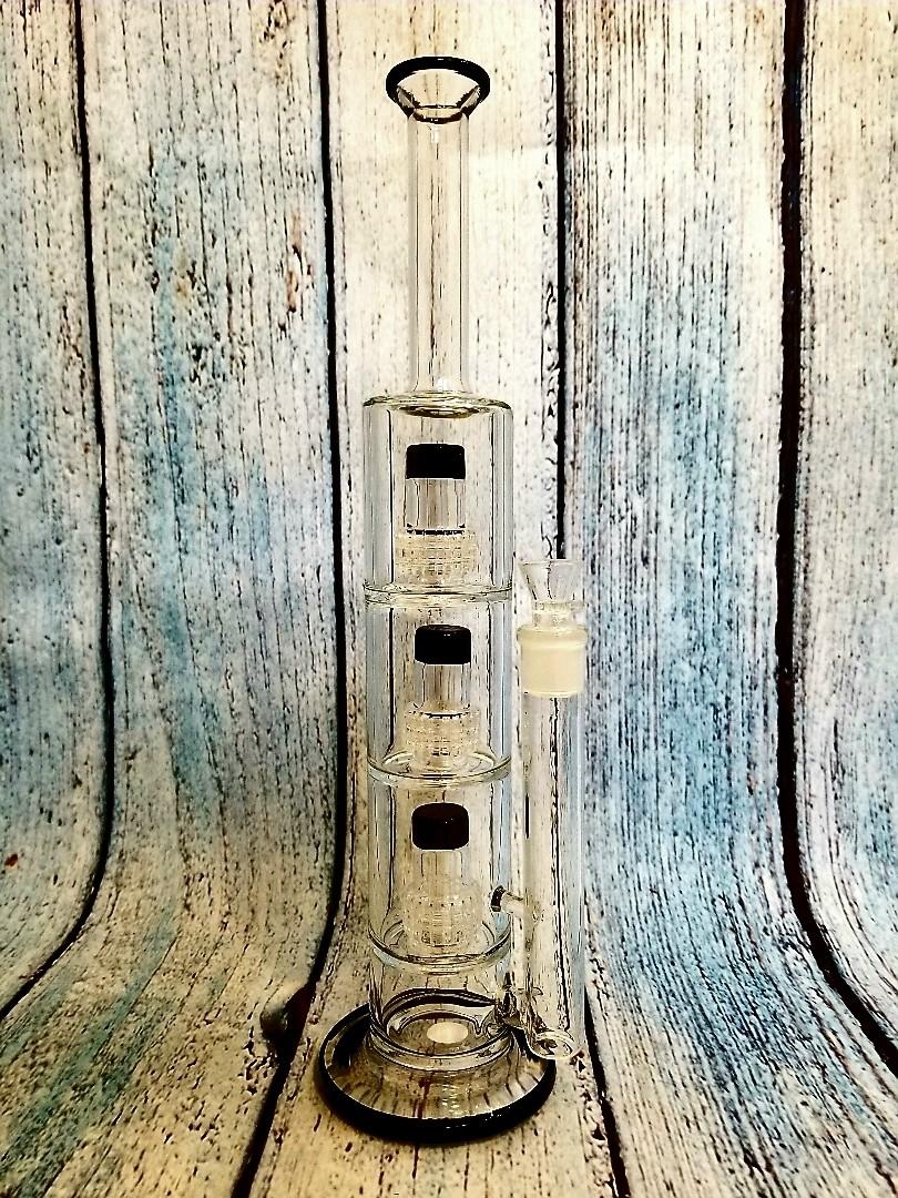 WATERPIPE TRIPLE CHANDELIER