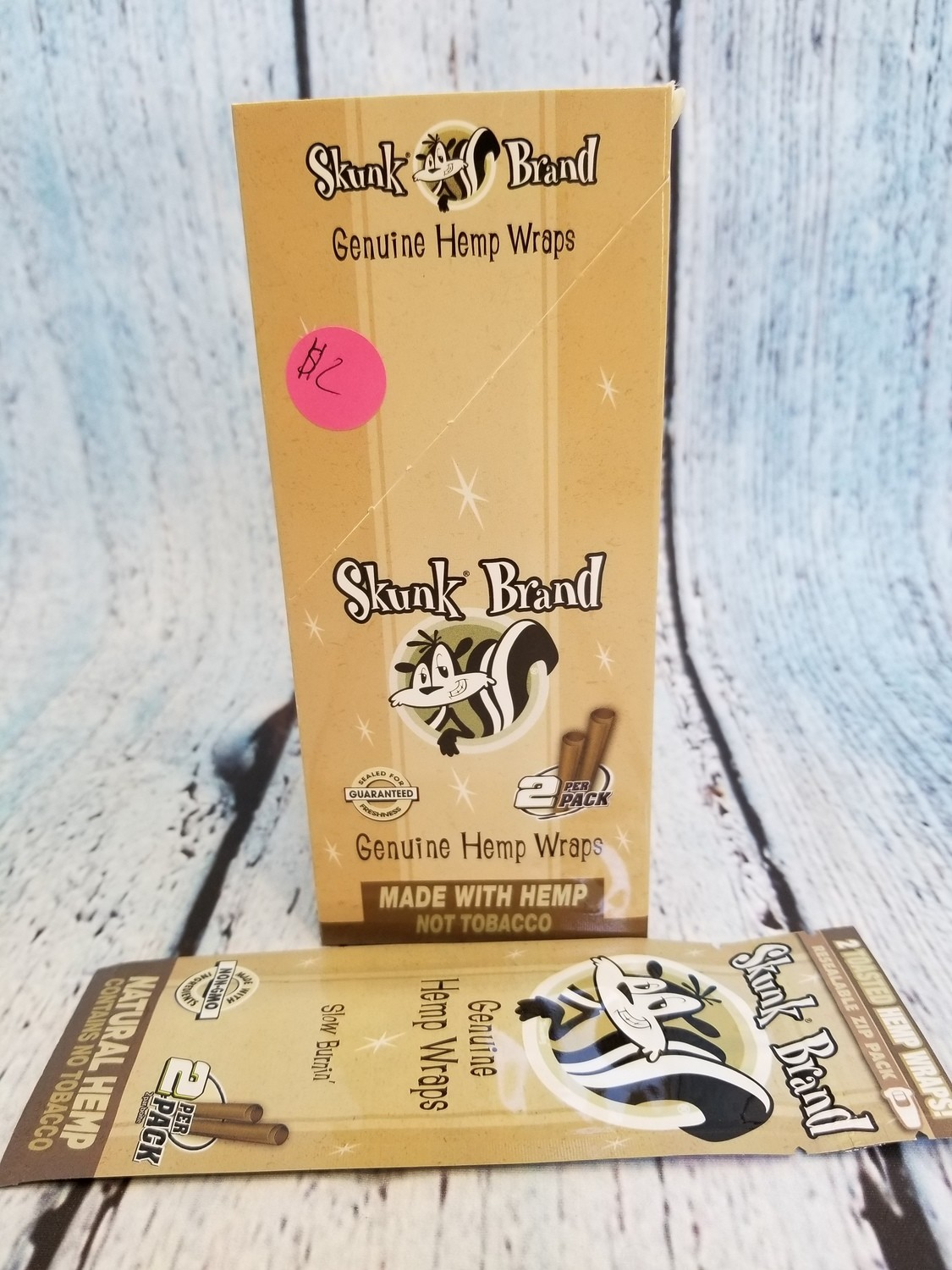 SKUNK BRAND NATURAL HEMP WRAPS