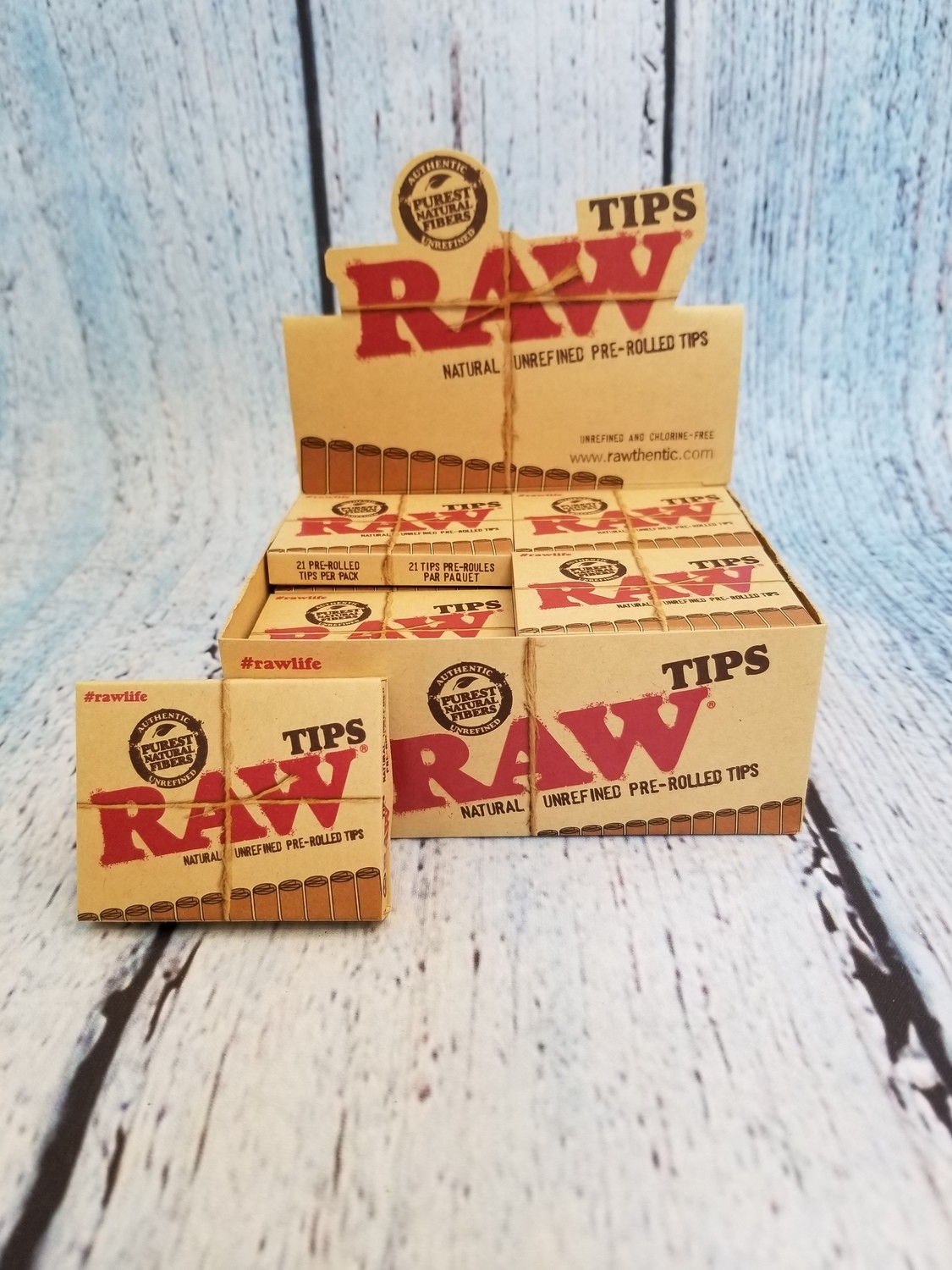 RAW TIPS PRE-ROLLED