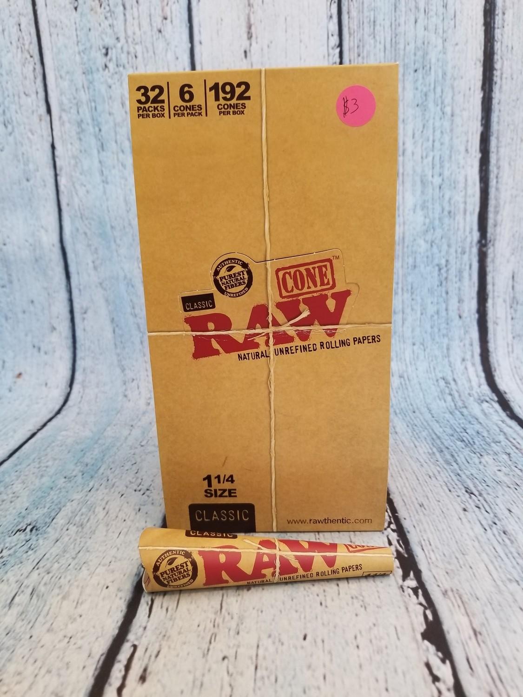 Raw 1 1/4 Cones