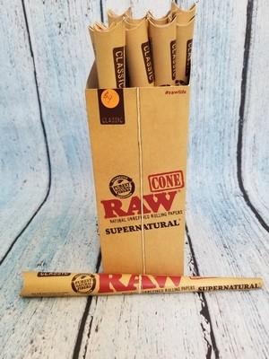 Raw Supernatural Cones