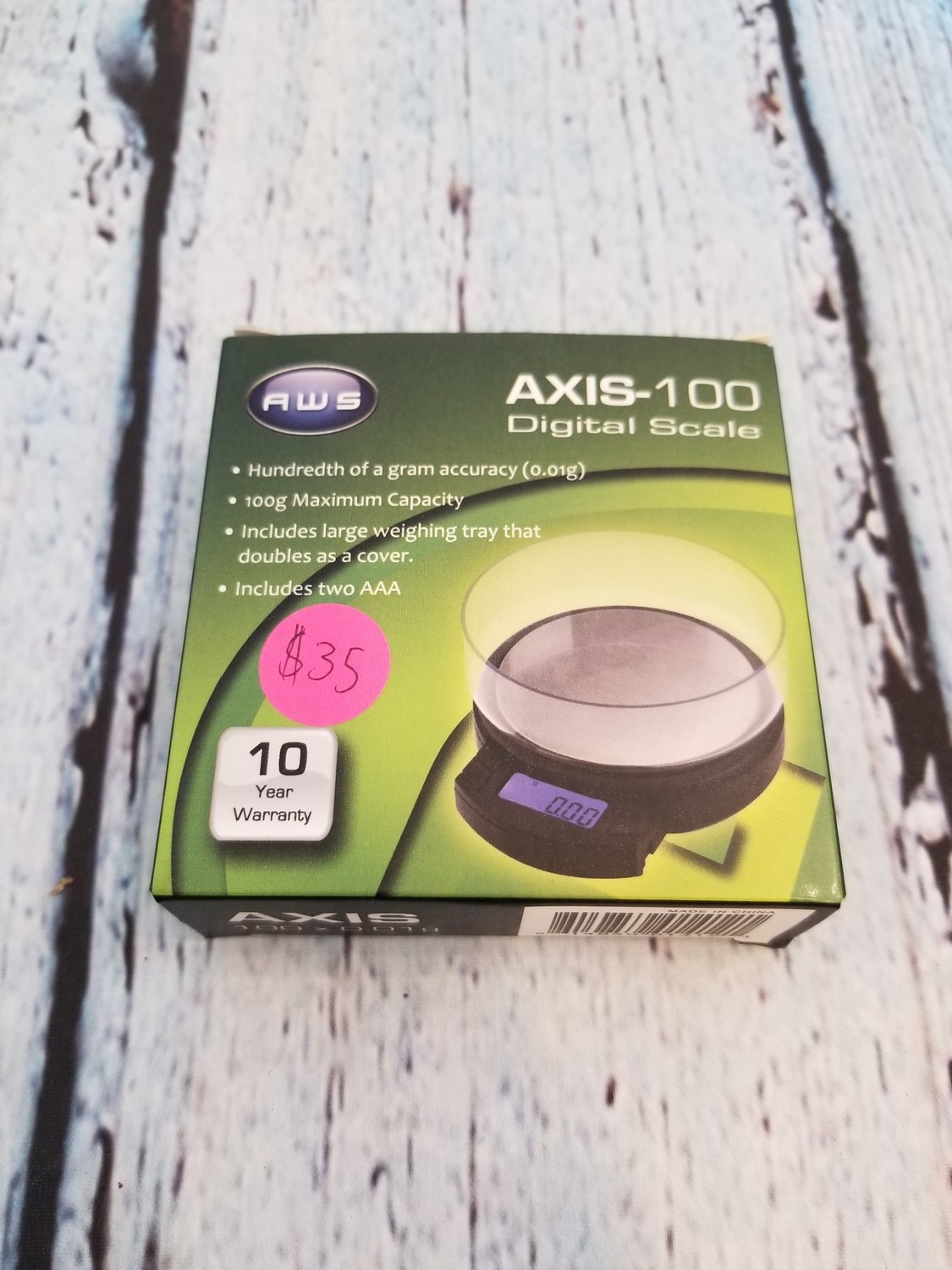 AWS AXIS-100 DIGITAL SCALE