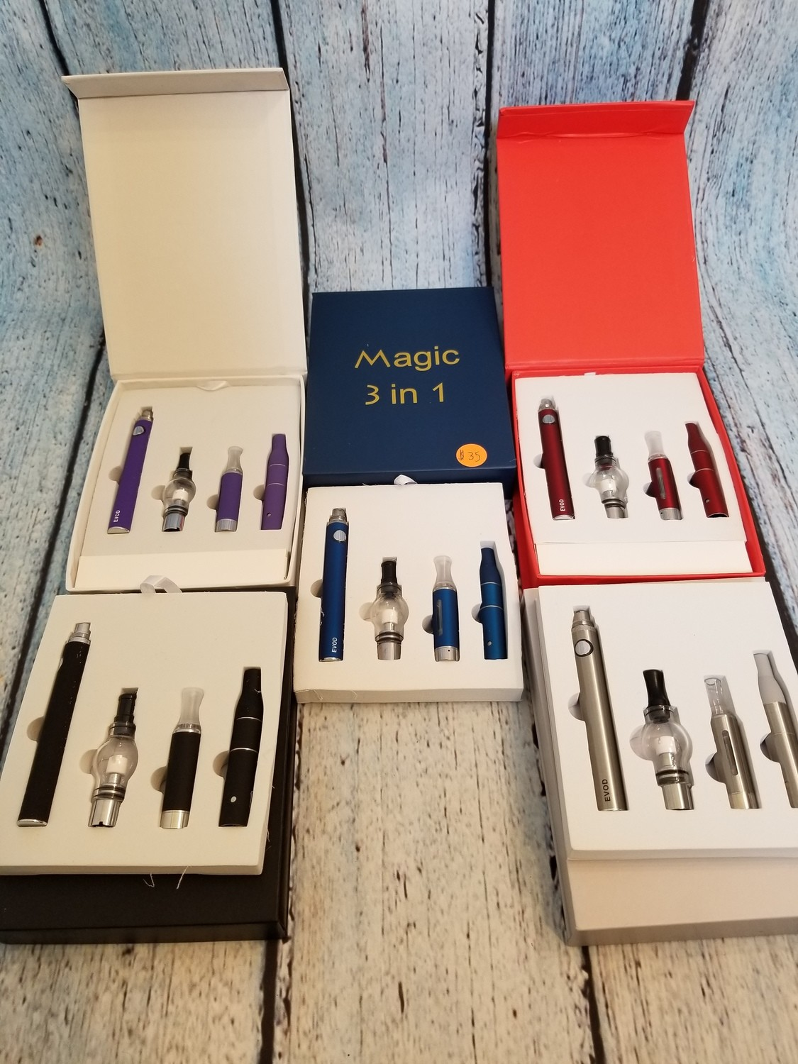 MAGIC 3 IN 1 VAPE PEN